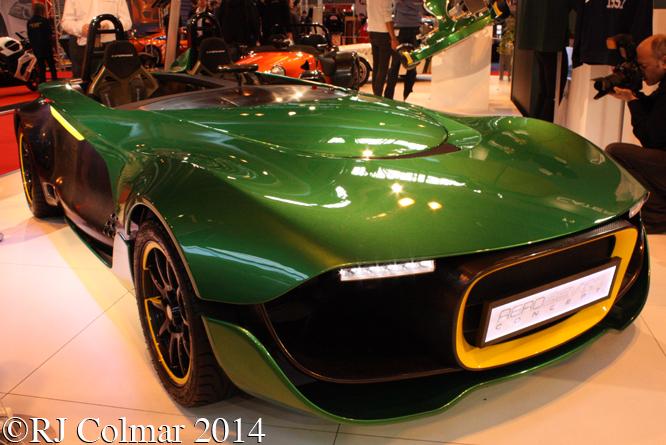 Caterham Aero Seven Concept, Autosport International, NEC, Birmingham