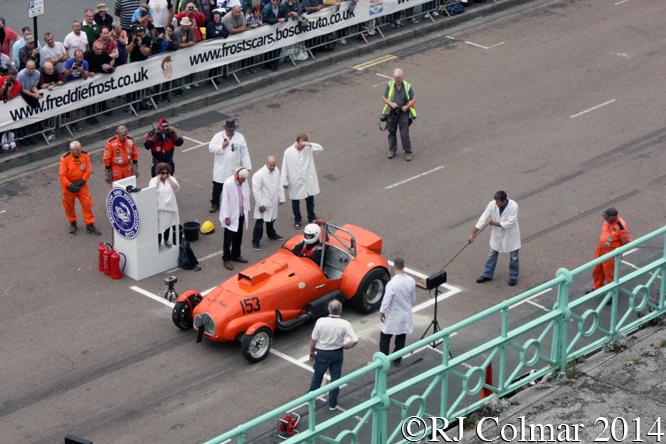 Allard J2, Jim Tiller, Brighton Speed Trials,