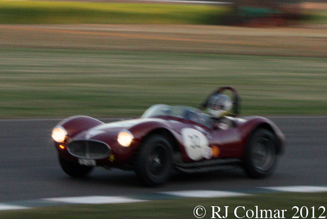 Maserati A6GCS, Hüni / Stippler, Freddie March Memorial Trophy, Goodwood Revival