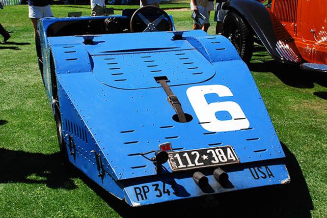 Bugatti Type 32R, Hillsborough Concours d'Elegance