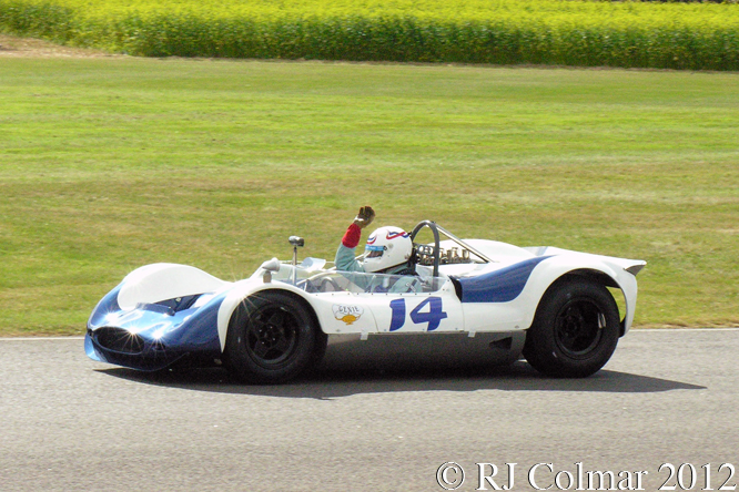 BMC Genie, Simon Hadfield, Whitsun Trophy, Goodwood Revival