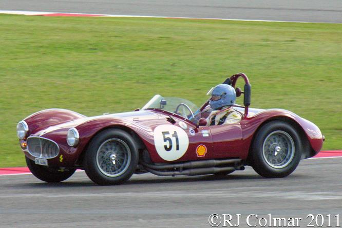 Maserati A6GCS, Huni Pearson, RAC Woodcote Trophy, Silverstone  Classic