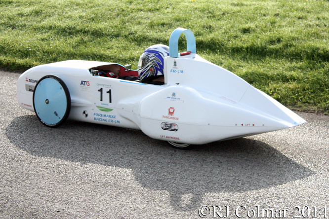 FR-5M, Renishaw Castle Combe Heat