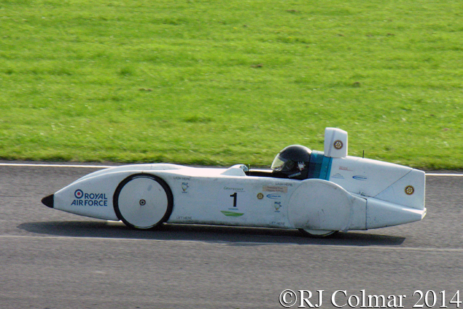 Rotary Racer +, Renishaw Castle Combe Heat