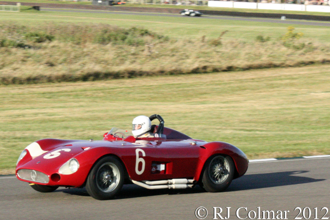 Maserati 300S, Carlo Vögele, Sussex Trophy, Goodwood Revival