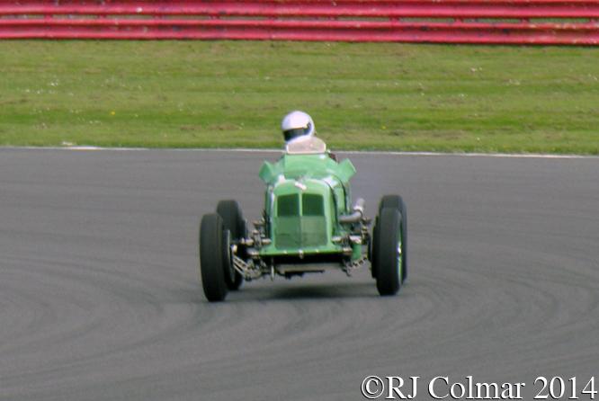 ERA R3A, Mark Giles, VSCC Spring Start, Silverstone.