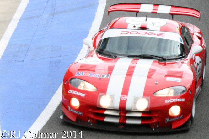 Chrysler Viper GTS-R, Florent Moulin, GT Legends, Silverstone Classic,