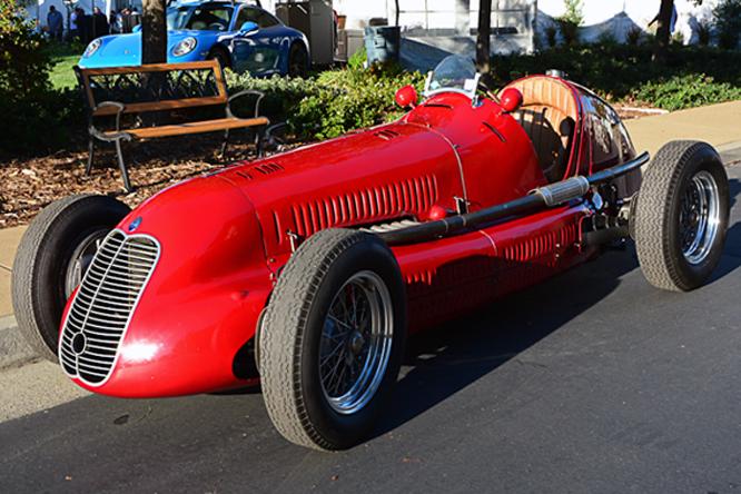 Maserati 4CL,  Niello Concours at Serrano