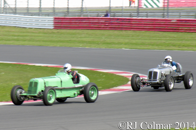 ERA R3A, Mark Giles, Spring Start, Silverstone.