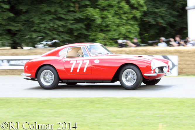 Ferrari 250 GT LWB Interim, Pappalardo, Goodwood Festival of Speed,