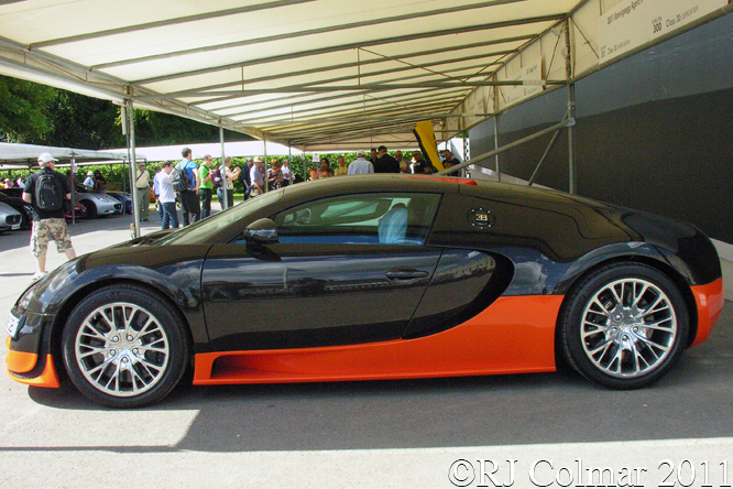 Bugatti Veyron EB 16.4 Super Sport WRE, Goodwood Festval of Speed