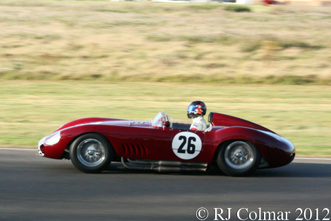 Maserati 300S, Gregor Fisken, Sussex Trophy, Goodwood Revival