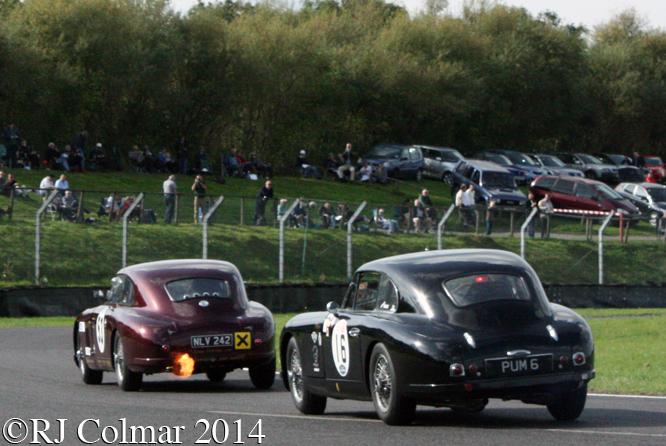 David Reed, Chris Jolly Historic Aston Martins, Autumn Classic, Castle Combe