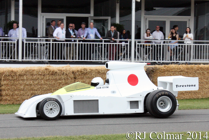 Maki F101, Howden Ganley, Goodwood Festival of Speed