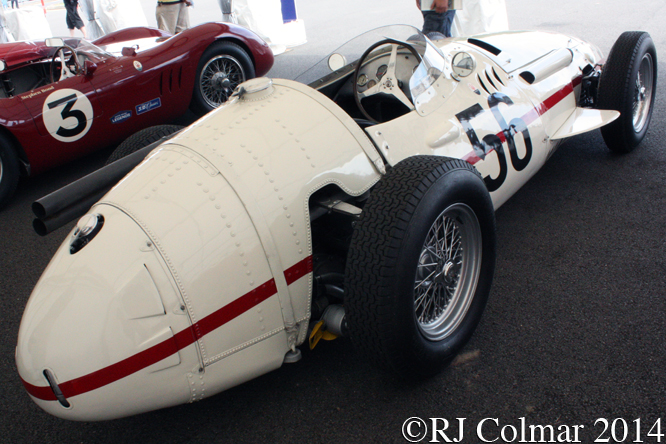 Maserati 250F, Silverstone Classic,