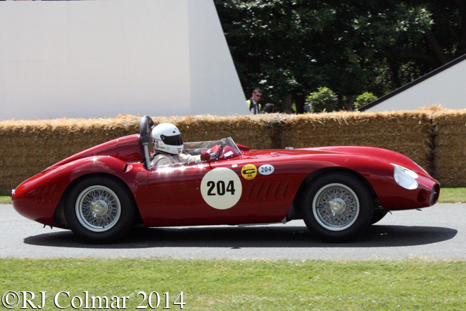 Maserati 300S, David Franklin, Goodwood Festival of Speed