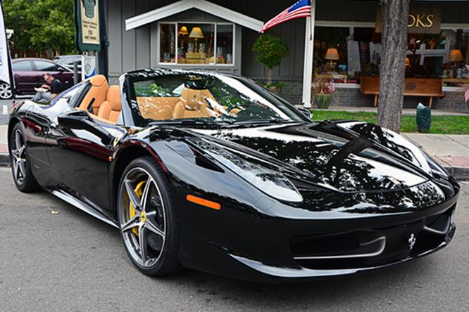 Ferrari 458 Convertible, Danville Concours d'Elegance