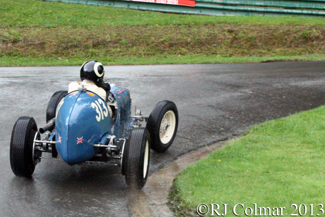 ERA R4A, James Baxter, VSCC Prescott