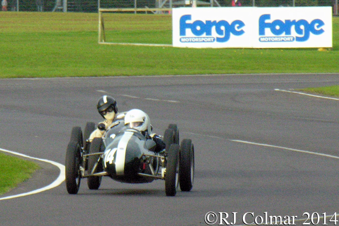 Cooper Mk X , Steve Jones, Autumn Classic, Castle Combe