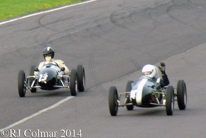 Steve Jones, George Shackleton, Cooper, 500 Formula 3, Autumn Classic, Castle Combe,