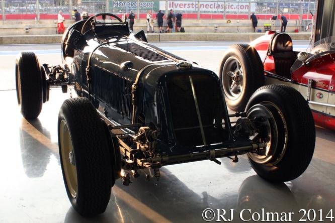 ERA R4A, Silverstone Classic,