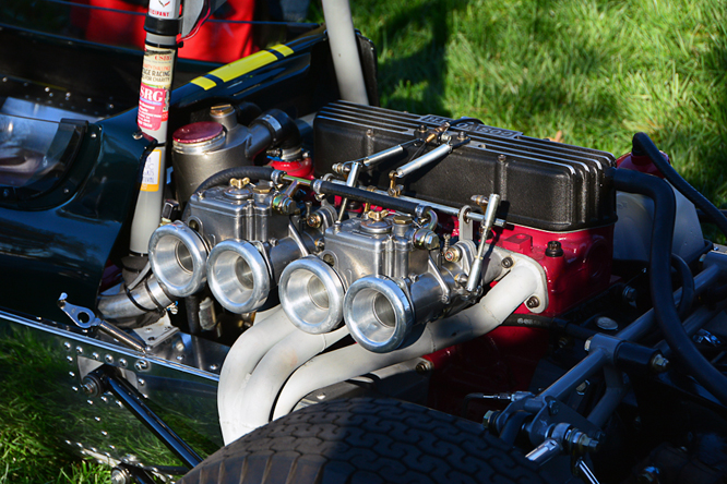 Lotus 27, Niello Concours at Serrano