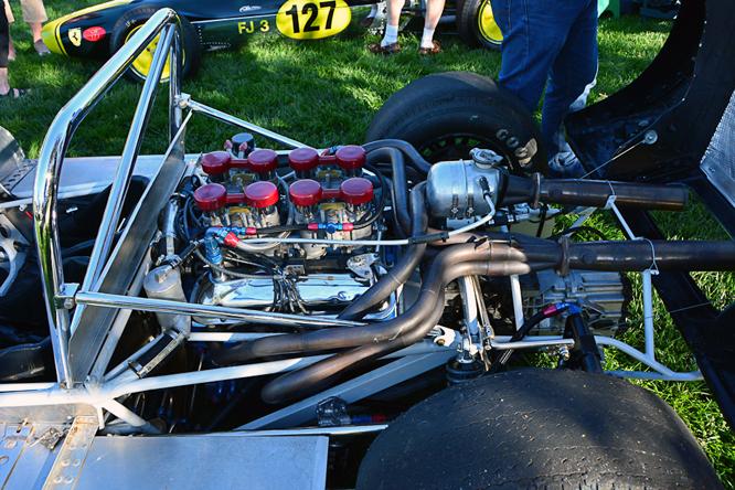 Lotus 19, Niello Concours at Serrano
