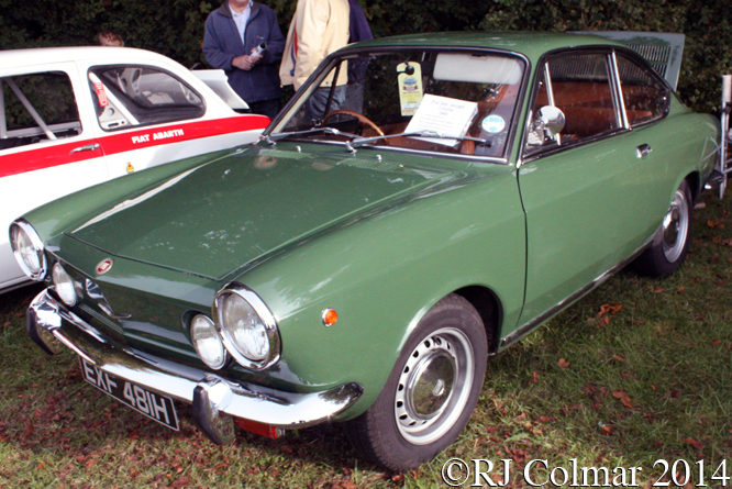 FIAT 850 Coupé, Autumn Classic, Castle Combe