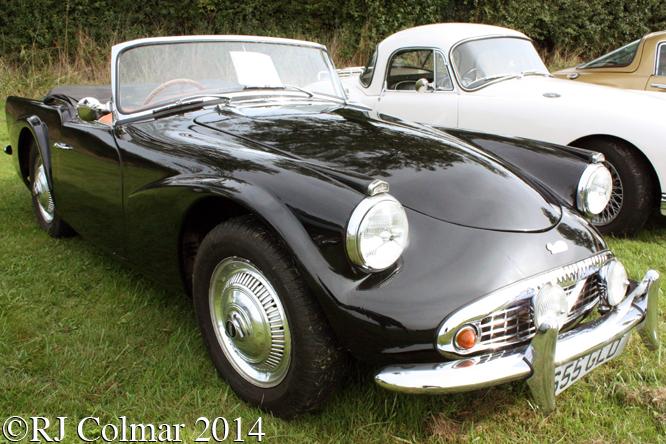 Daimler Dart SP 250, Autumn Classic, Castle Combe