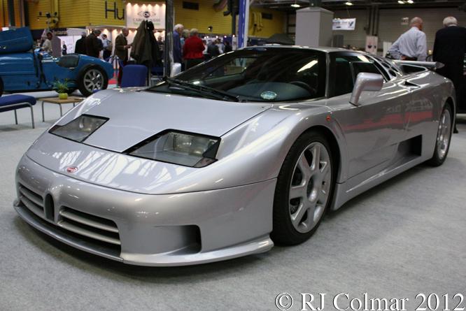 Bugatti EB110 Super Sport, Classic Motor Show, NEC, Birmingham