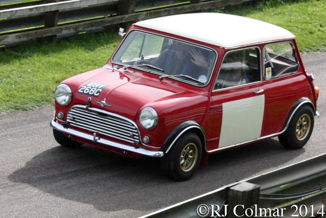 Morris Mini Cooper S, Dave Foster, Autumn Classic, Castle Combe