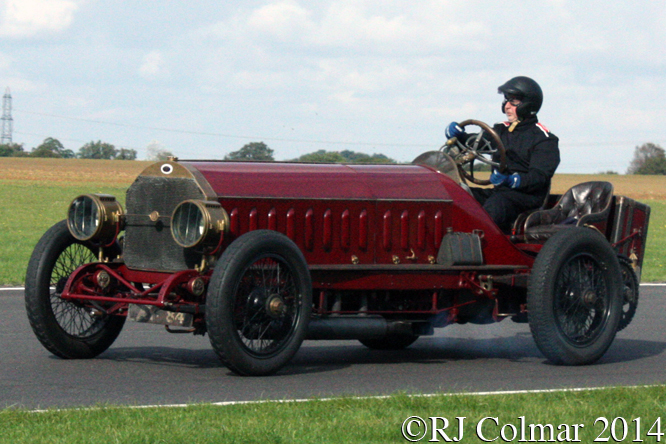 FIAT Isotta Fraschini, Mike Vardy, Autumn Classic, Castle Combe