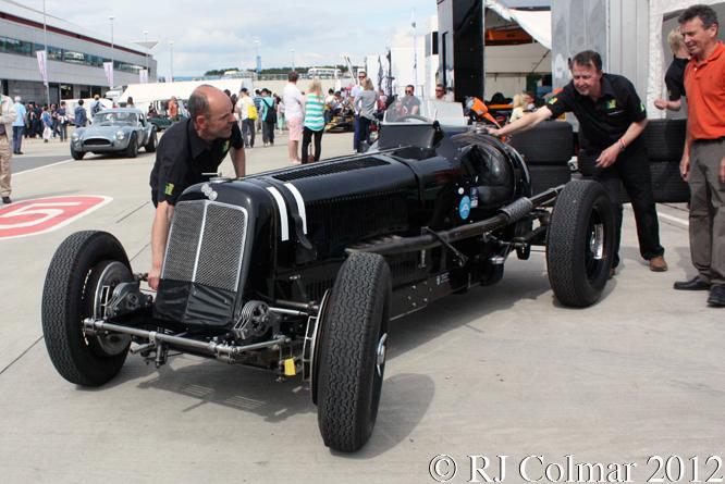 ERA R1B, Silverstone Classic,