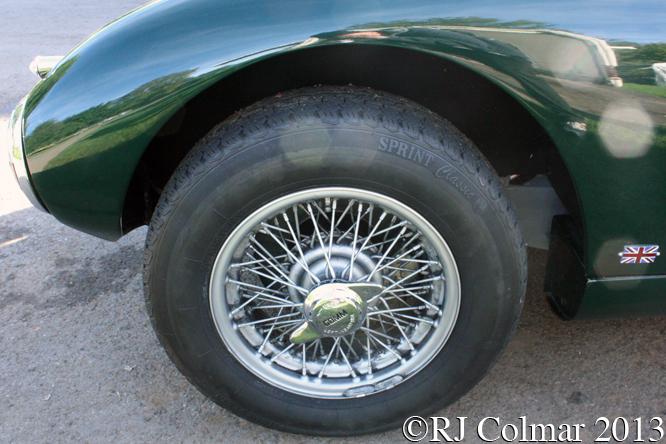 Jaguar XK140 Gomm Special, Autumn Classic, Castle Combe