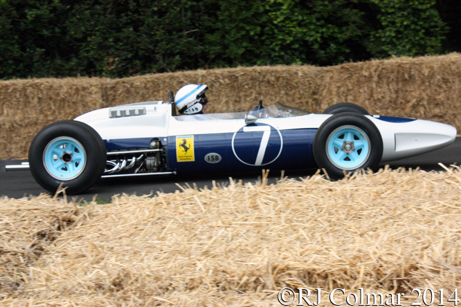Ferrari 158 R, John Surtees, Goodwood Festival of Speed