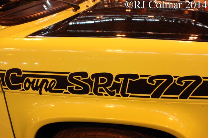 Simca Rallye 2 Coupé SRT 77, Classic Motor Show NEC, Birmingham