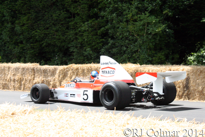 McLaren M23, Emerson Fittipaldi, Goodwood Festival of Speed