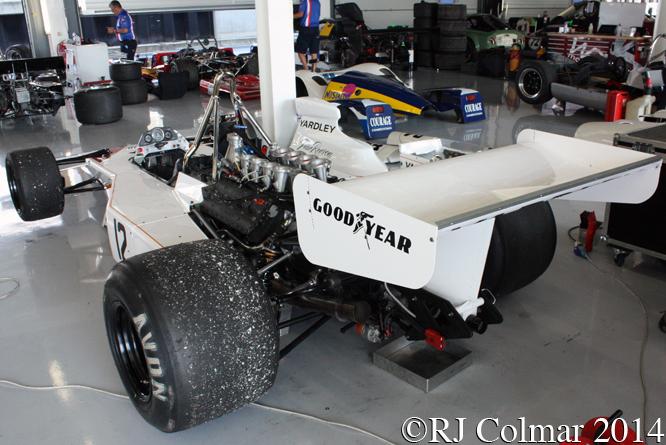McLaren M23, Silverstone Classic