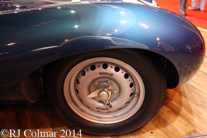 Jaguar D-Type, Classic Motor Show, NEC Birmingham