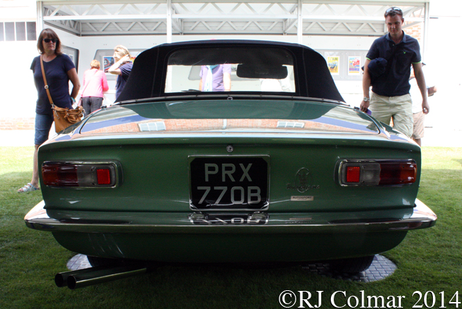 Maserati Mistral Spyder, Goodwood Festival of Speed