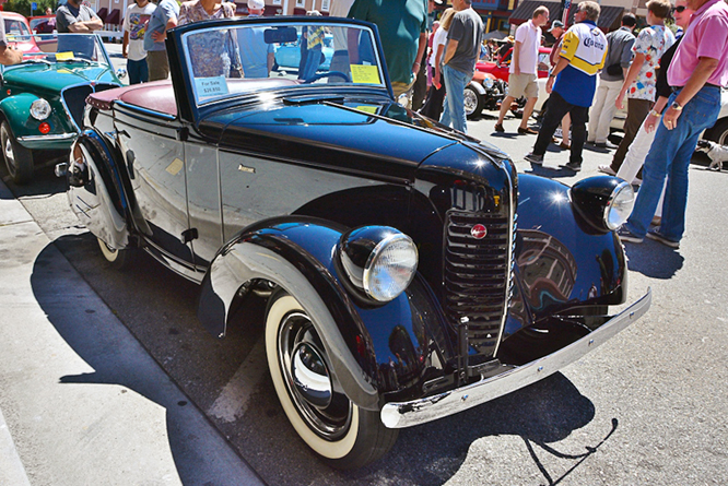 American Bantam, The Little Car Show, City of Marina