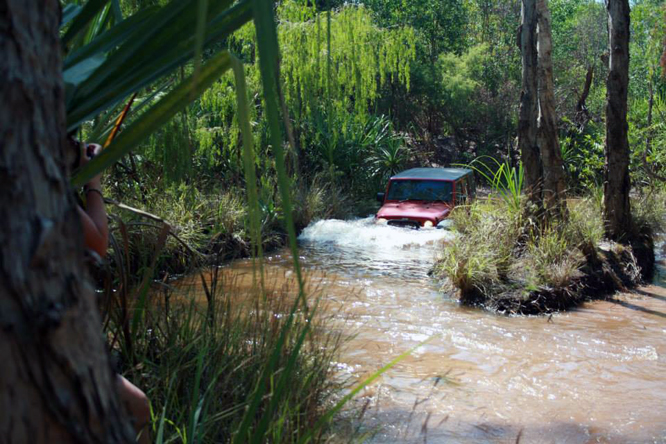 Jeep Wrangler Unlimited, Chantal Binding, Reynolds River, Litchfield National Park