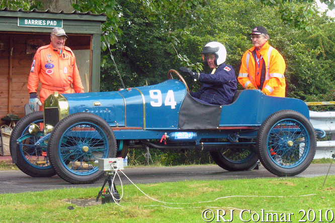 Delage Type R, David Barker, VSCC Loton Park,