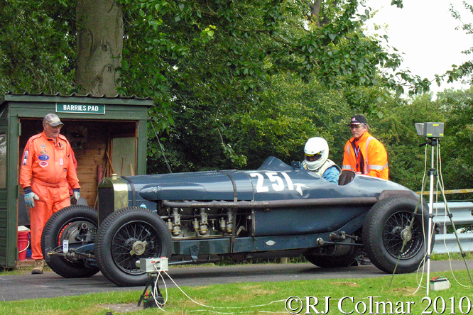 Hispano Delage 500CV, Anthony Howart, VSCC Loton Park