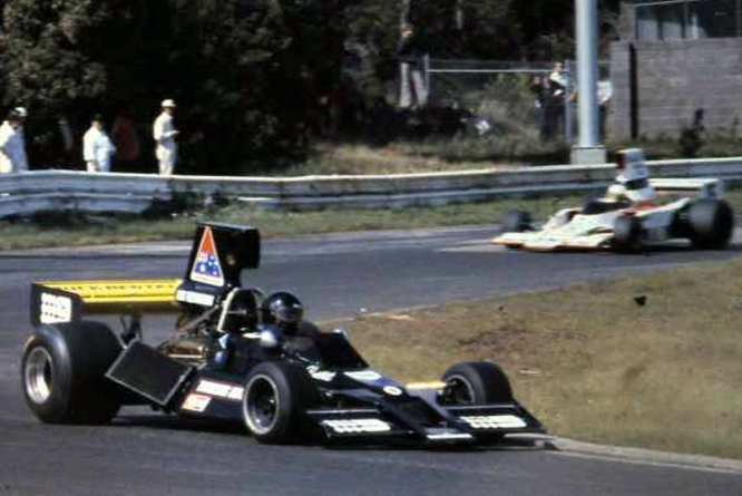 Brabham Chevrolet BT43, Kevin Bartlett, Sandown Park,
