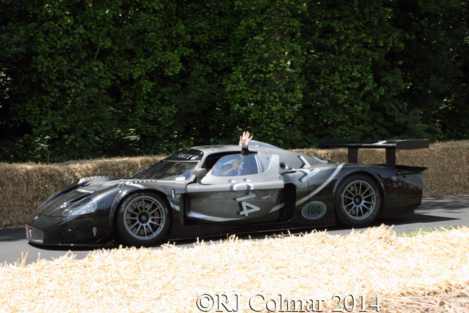 Maserati MC12 Cent 100, Michael Bartels, Goodwood Festival of Speed