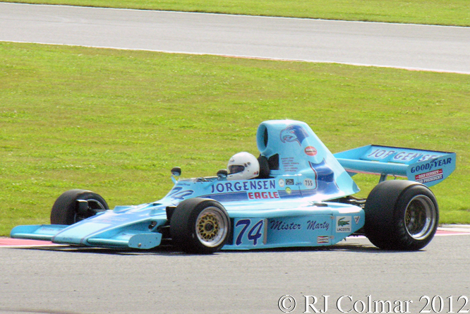 Eagle 74A, Frank Lyons, Silverstone Classic