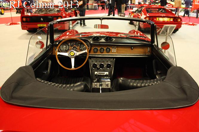 Ferrari 365 GTS, Classic Motor Show, NEC, Birmingham