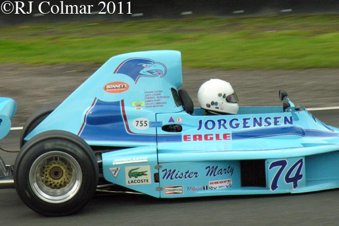 Eagle 74A, Frank Lyons, Gold Cup, Oulton Park