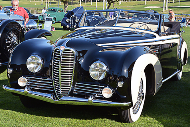 Delahaye Type 178 Chapron Cabriolet, Desert Classic, Palm Springs